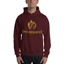 Load image into Gallery viewer, Hooded Sweatshirt - Gold Logo