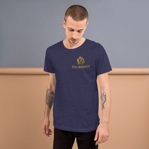 Short-Sleeve Unisex T-Shirt - Gold Logo