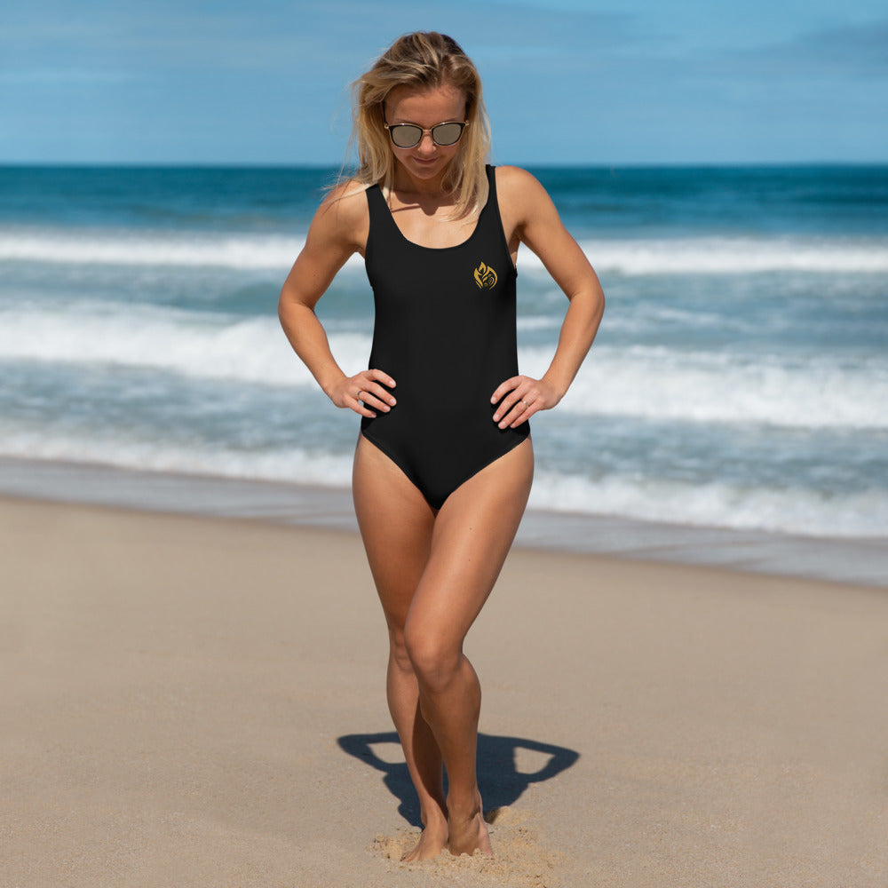 One-Piece Swimsuit - Black