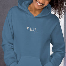 Load image into Gallery viewer, Unisex Hoodie - Centre FEU Embroidered