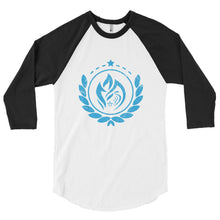 Load image into Gallery viewer, 3/4 sleeve raglan shirt - Crest