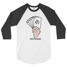 Load image into Gallery viewer, 3/4 sleeve raglan shirt - Feu House