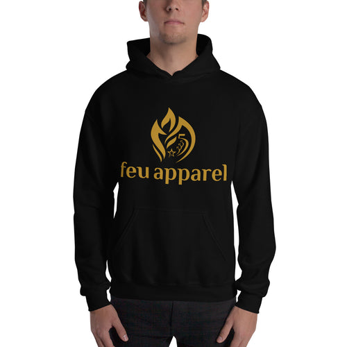 Hooded Sweatshirt - Gold Logo