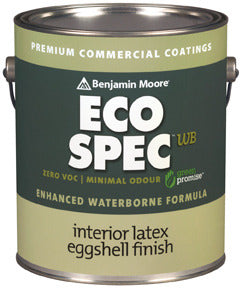 Eco Spec Waterborne Eggshell Finish
