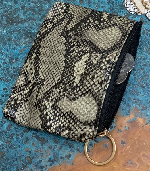 Python of Coin & Card pouch