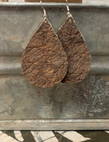 Authentic Rhino Hide Earrings