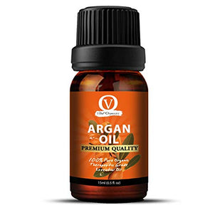 Argan Oil From Morroco for Conditioning Skin & Hair 100% Pure, Cold Pressed, Unrefined. Essential Oil for Face, Nails, Hair, Skin. Therapeutic AAA+ Grade