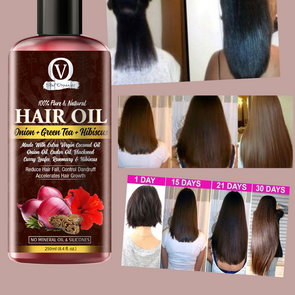 Onion Hair Oil for Hair Growth, Shine and Strong Hair