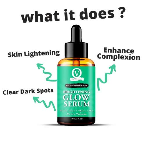 Face Glow Serum for Men & Women With All Natural Ingredients
