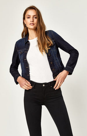 Samantha Denim Jacket Dark Nolita