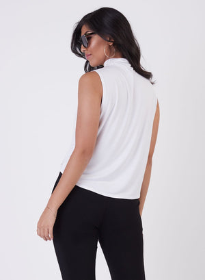 Soft Mock Neck Tank
