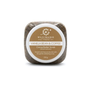 Vanilla Bean & Coffee Cocoa Butter Scrub