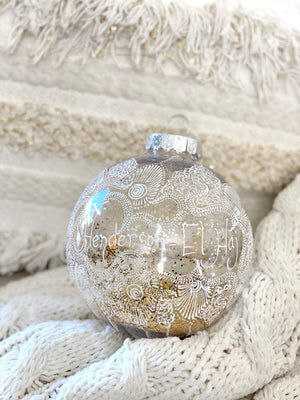 Personalized Mehndi Ornament