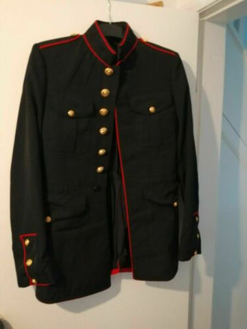 punk/goth/stage Mens military jacket-size 36