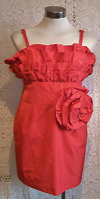Gorgeous Scarlett Corsage Bustier Dress size16 Drama Queen,knee length,new