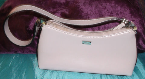 Fiorelli dusky pink leather small shoulder bag-1strap.zip fastener/innner pocket