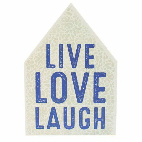 PAGAN/WITCHY /GOTHIC/HALLOWEEN wooden Live Laugh Love WallPlaque-18.50cm x 14cm