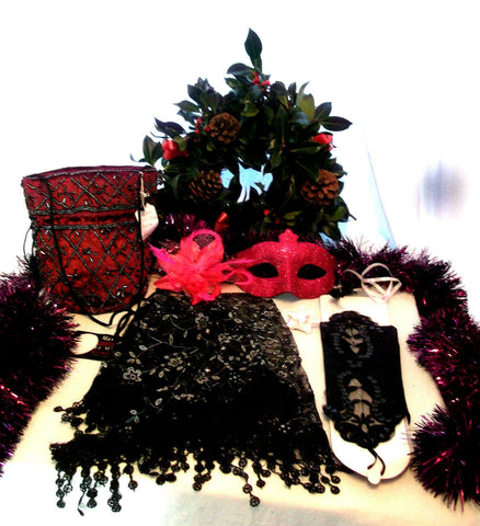NEW YEAR/XMAS/PARTY/ACCESSORIES party pack essential GIFT SET9--gift wrapped