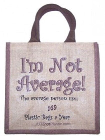 JUTE SHOPPING BAG Jute Not Plastic - UNISEX Tantra Bags-ECO-BAGS-RE-USE-REDUCE