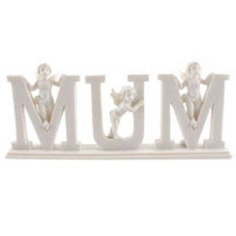 MYTH/FANTSY/ANGEL PERFECT GIFT-Mum MINI cherubs-RESIN Approx 8.5cm tall by 20cm