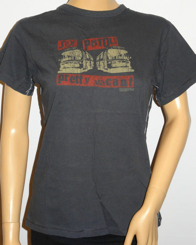 PUNK.ROCKER.RETRO women's Sex pistols Pretty Vacant Rock t shirtssize8