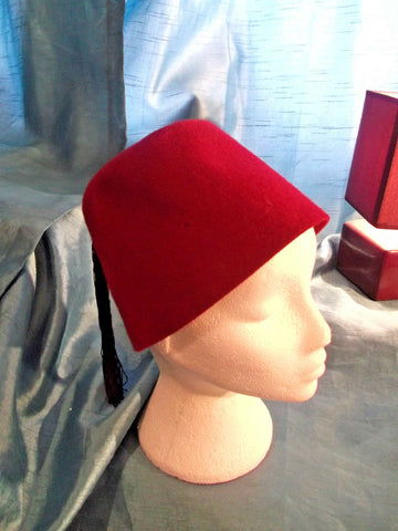 punk/cosplay/festi/stagewear/costume/WOOL HAND-MADE FEZ HAT WITH TASSLE 20