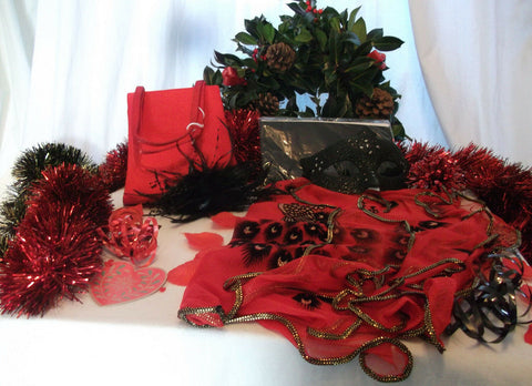 NEW YEAR/XMAS/PARTY/ACCESSORIES party pack essential GIFT SET2--gift wrapped
