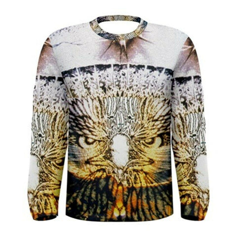 eagle vision Exclusive,Original Designer mens long sleeve tee Size L-42
