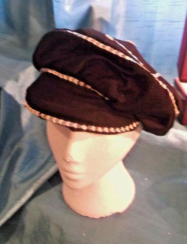 punk/cosplay/festi/stagewear/costume/KANGOL HAT WITH SEQUINS/BUTTONS 20