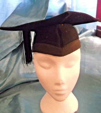 punk/cosplay/festi/stagewear/costume. black mortar board. 22