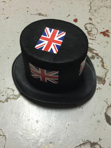 PUNK/COS PLAY/FESTI/ BLACK Top hats / England all *NEW*