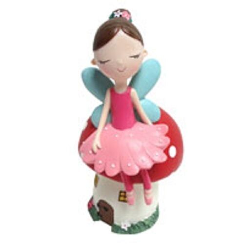 Kiddies Forest Fairy money box  hand-painted H:15cm W:8.5cm D:8.5cm PERFECT GIFT