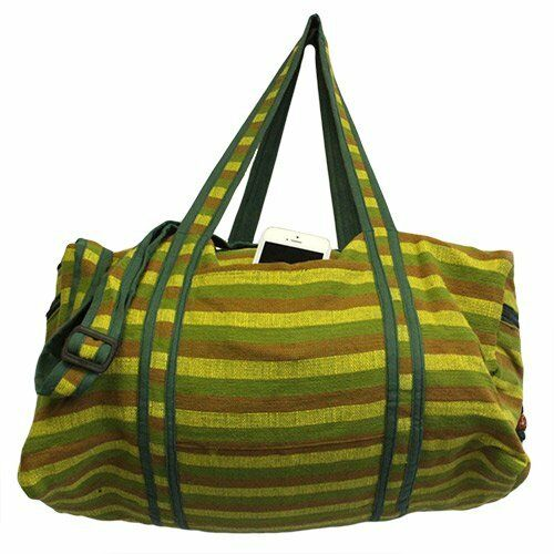 UNISEX Nepal TRAVEL Bag - Décor Panel-travelling duffle bag.2handle,