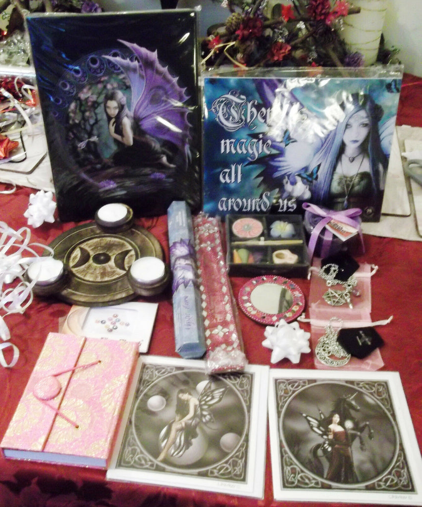 Funky Fearie GIFTSET1(12Iitems) I believe. funky gift item-Anne Stokes