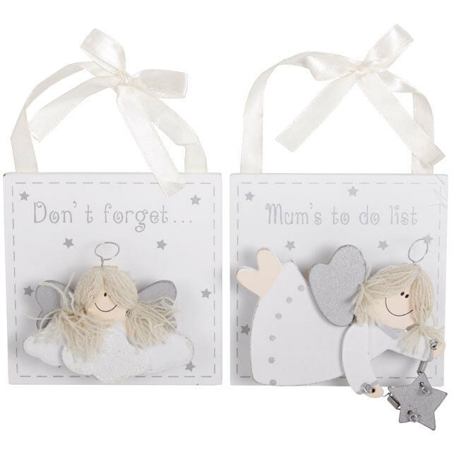 MYTH/FANTSY/ANGEL PERFECT GIFT-Mums Angel To Do List 11.5cm tall X10cm across