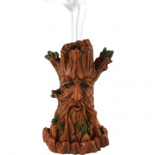 HALLOWEEN/PAGAN/gothic/wiccan/Tree man incense burner by lisa parker-Approx 12cm