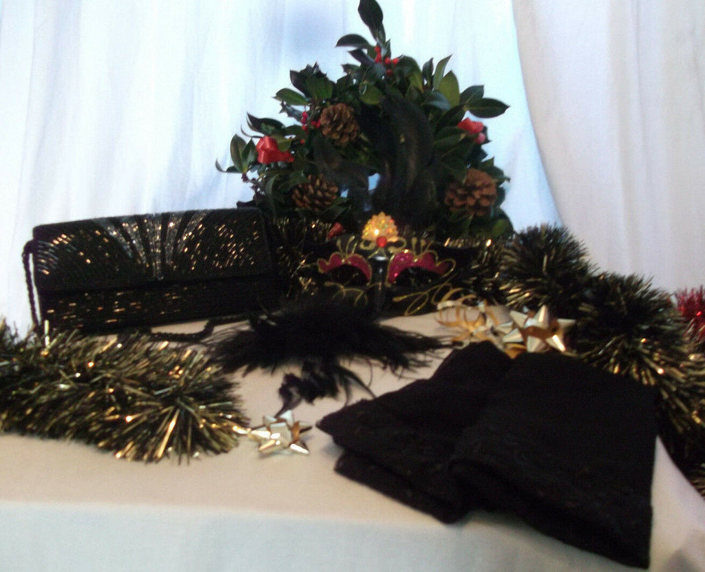 NEW YEAR/XMAS/PARTY/ACCESSORIES party pack essential GIFT SET4--gift wrapped