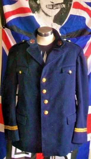 STEAMPUNK TRUE Vintage Military Jacket.38/40