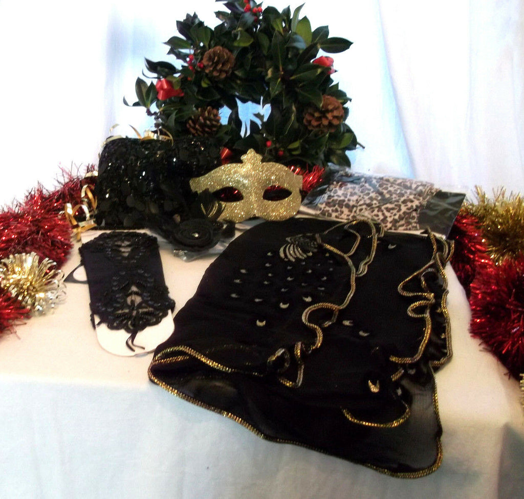 NEW YEAR/XMAS/PARTY/ACCESSORIES party pack essential GIFT SET8--gift wrapped