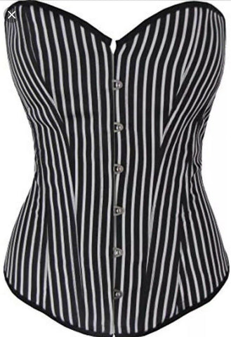 Copy of Sexy Goth/Burlesque/steampunk/punk/Rockabily Grey Corset UNDERBUST -& thong inc