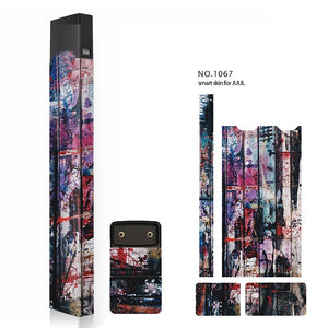 Skin For JUUL Case Colorful Painting Patterns