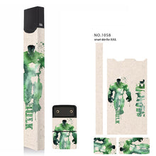 Load image into Gallery viewer, Stickers For JUUL skin protector 3M adhesive Super Hero pattern