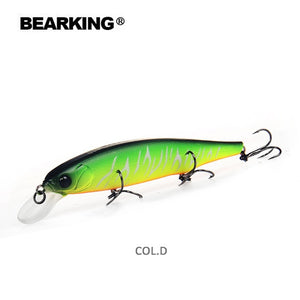 Bearking 2018 Wobblers Minnow Fishing Lure