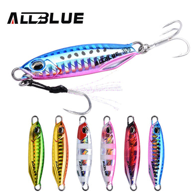 ALLBLUE New DRAGER Metal Cast Jig Spoon