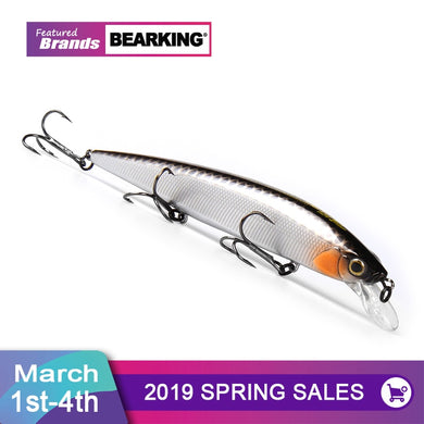 Bearking 2019 Tungsten Weight System Wobbler Crank Bait
