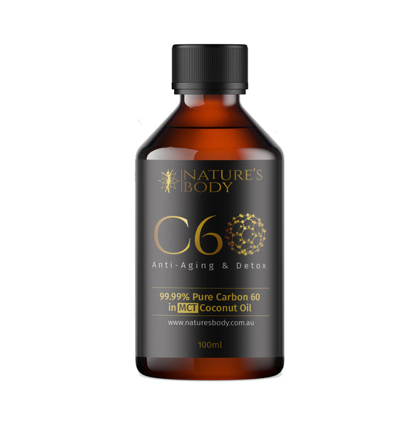 Carbon 60 in Premium MCT Coconut Oil - 100ml