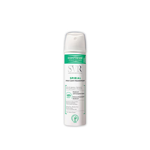 Spirial spray anti-transpirante