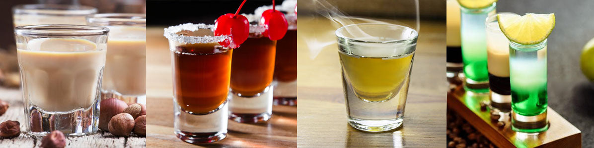 Shot Glasses and Shooters
