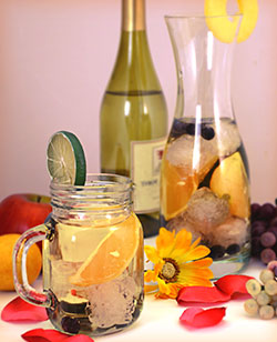 Mother's Day Peachy Sangria