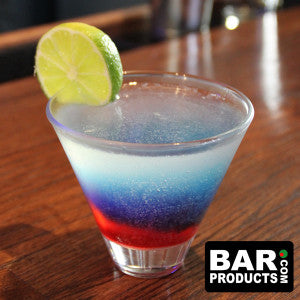 Red - White - Blue 'MERICA Cocktail